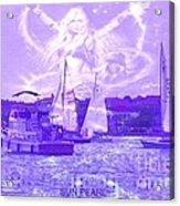 Angel Skies Acrylic Print