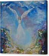 Angel Whisperings Acrylic Print