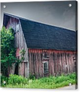Angelica Barn In Hdr Acrylic Print