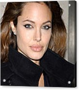 Angelina Jolie At The Special Screening Acrylic Print