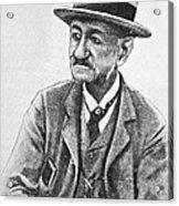 Angelo Dubini, Italian Physician, Artwork Acrylic Print