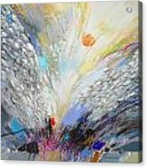 Angels Presence  - Square Painting Acrylic Print