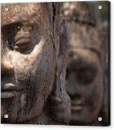 Angkor Warriors Acrylic Print