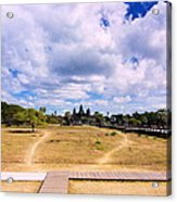 Angkor Wat Acrylic Print by Arik S Mintorogo