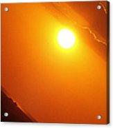 Angled Sunset Acrylic Print