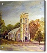 Anglican Church Beechworth  Victoria Acrylic Print