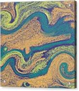 Angry Seas Acrylic Print