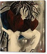 Angst With A Cigarette Acrylic Print