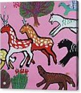 Animals Acrylic Print