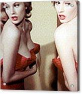 Anita Ekberg, Circa Late. 1950s Acrylic Print by Everett