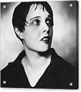Anita Loos (1893-1981) Acrylic Print