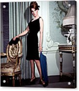Ann-margret, In French Drawing Room Acrylic Print by Everett