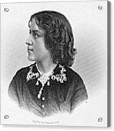 Anna Elizabeth Dickinson Acrylic Print