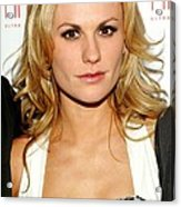 Anna Paquin At Arrivals For Hbos True Acrylic Print