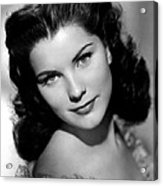 Anne Of The Indies, Debra Paget, 1951 Acrylic Print