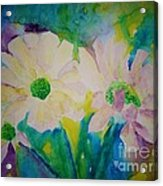 Anne's Flowers Acrylic Print
