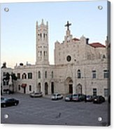 Annunciation Latin Church In Beit Jala Acrylic Print