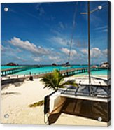 Another Day. Maldives Acrylic Print