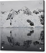 Antarctic Mountains Reflected Acrylic Print