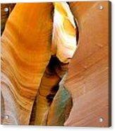Antelope Canyon - Nature's Extravaganza Acrylic Print