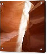 Antelope Canyon - The Mystery Of Nature's Creativity Acrylic Print by Christine Till