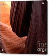 Antelope Canyon Living Rock Acrylic Print