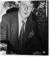 Anthony Burgess (1917-1993) Acrylic Print