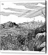 Anthony Gap New Mexico Texas Acrylic Print by Jack Pumphrey