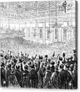 Anti-slavery Meeting, 1863 Acrylic Print by Granger