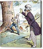 Anti-trust Cartoon, 1904 Acrylic Print