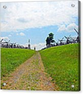 Antietam Battle Of Bloody Lane Acrylic Print
