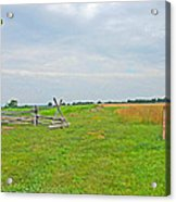 Antietam Battle Of The Cornfield Acrylic Print