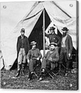Antietam: Officials, 1862 Acrylic Print