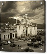 Antigua Cathedral Acrylic Print