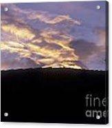 Antigua Sunset Acrylic Print
