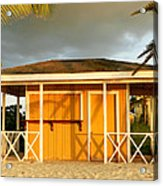 Antiguan Beach Hut Acrylic Print
