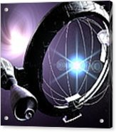 Antimatter Drive Spaceship Acrylic Print
