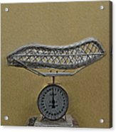 Antique Baby Scale Acrylic Print