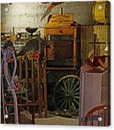 Antique Basement Acrylic Print