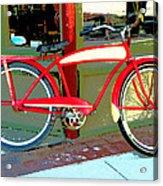 Antique Bicycle Acrylic Print