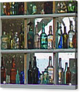 Antique Bottle Collection  Acrylic Print