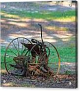 Antique Farm Equipment Acrylic Print