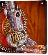 Antique Hand Drill 3912  Acrylic Print