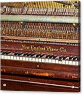 Antique Piano Acrylic Print