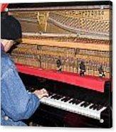 Antique Playtone Piano Acrylic Print