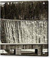 Antique Polish Waterfall Acrylic Print