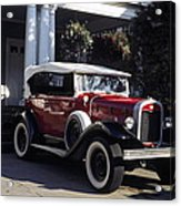 Antique Red Convertible Acrylic Print