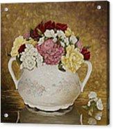 Antique Roses Acrylic Print