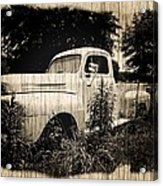 Antique Truck Acrylic Print