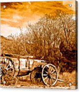 Antique Wagon Acrylic Print